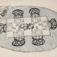 Arte: BOADA, PEDRO, ILUSTRACIÓN ORIGINAL 1972. Lote 123359531
