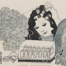 Arte: BOADA, PEDRO, ILUSTRACIÓN ORIGINAL 1972. Lote 123360279