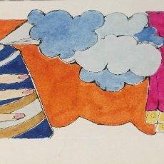Arte: BOADA, PEDRO, ILUSTRACIÓN ORIGINAL 1972. Lote 123362063