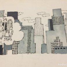 Arte: BOADA, PEDRO, ILUSTRACIÓN ORIGINAL 1972. Lote 123362651