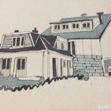 Arte: BOADA, PEDRO, ILUSTRACIÓN ORIGINAL 1972. Lote 123362791