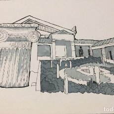Arte: BOADA, PEDRO, ILUSTRACIÓN ORIGINAL 1972. Lote 123362927