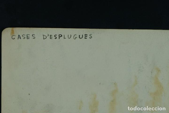 Arte: Acuarela sobre papel Paisaje Cases d'Esplugues mediados siglo XX - Foto 9 - 125947843