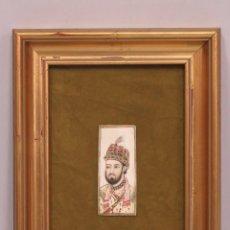 Art: RETRATO MINIATURA S/ MARFIL. GUACHE. SIGLO XX. Lote 178184820