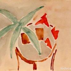 Arte: MARIA GIRONA - ACUARELA SOBRE PAPEL - FIRMADA. Lote 127141051