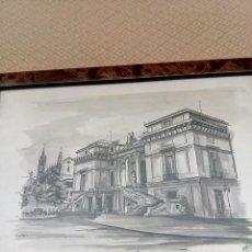 Arte: ACUARELA MUSEO DEL PRADO. Lote 127929279