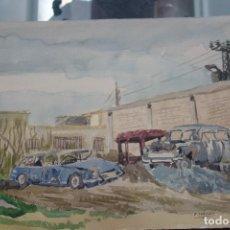 Arte: ACUARELA DEL SIGLO XX DEL PINTOR F. PEDREÑO. Lote 127941231