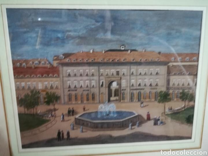 ACUARELA DE CALIDAD ANÓNIMA XIX (Arte - Acuarelas - Modernas siglo XIX)
