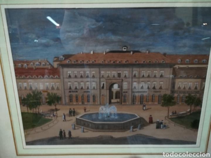 Arte: Acuarela de calidad anónima XIX - Foto 3 - 128213336