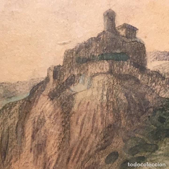 Arte: Aussig, Strekov Castle, (en la República Checa) por Rigobert Pohl (1884-1965) en 1921 - Foto 5 - 128513183