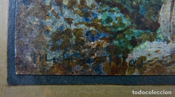 Arte: ACUARELA SOBRE PAPEL - COSTA BRAVA- FIRMA ILEGIBLE - Foto 4 - 128978667