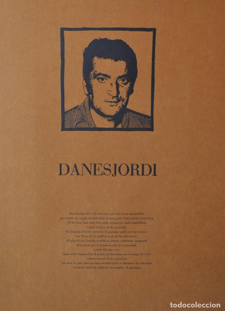 DANES JORDI - OLOT (1935-2006) (Arte - Acuarelas - Contemporáneas siglo XX)