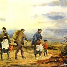 Arte: JOSEP TRAITÉ COMPTE (OLOT, GIRONA, 1935) 79*58. Lote 111270967