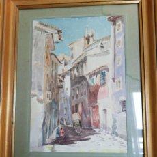 Arte: ACUARELA DE 1952. Lote 130214344