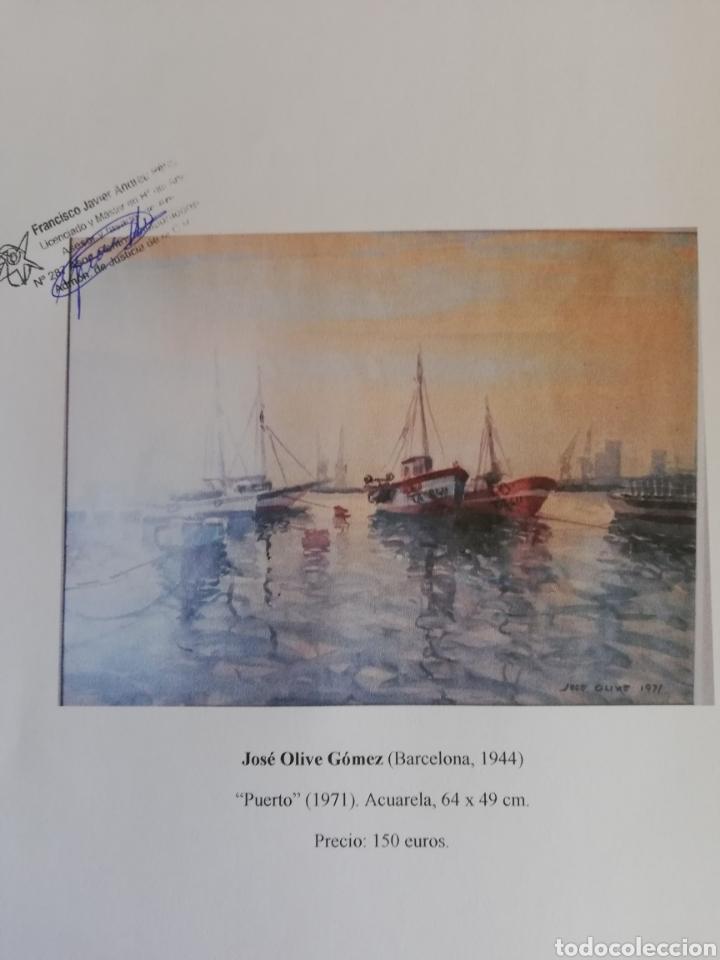 Arte: Acuarela de 1971 - Foto 4 - 130214659