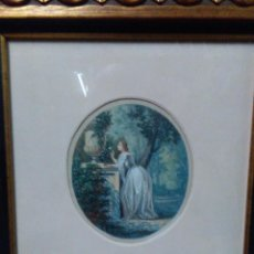 Arte: RAMON TUSQUETS MAIGNON (BARCELONA, 1837 - ROMA, 1904) ACUARELA. Lote 130890384