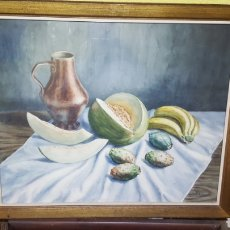 Arte: GRAN ACUARELA DEL PINTOR ABULENSE, MÁXIMO RODRIGUEZ. Lote 130932852
