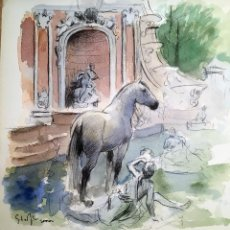Arte: LA GRANJA, POR ELOY MORALES. Lote 131046552