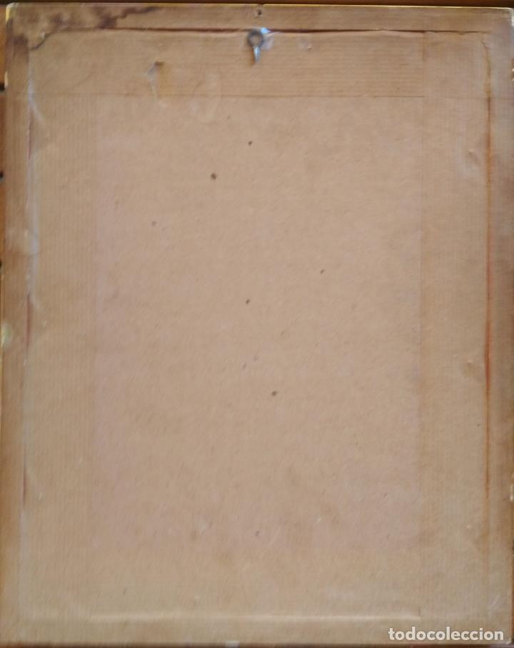 Arte: Joan Morales (1890 - ?) – Girona Convent d'arrepentides, dibuixat a llapis i aquarel·la, Any 1905 - Foto 4 - 131861690