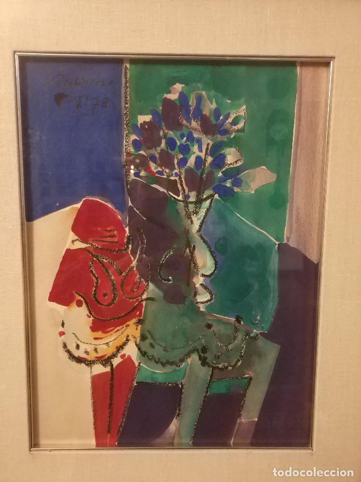 OBRA DE ANTONIO VALDIVIESO (Arte - Acuarelas - Contemporáneas siglo XX)