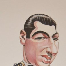 Arte: ANTONIO ORDOÑEZ - CARICATURA - RONDA - CARMELO CAATRAD. Lote 132012082