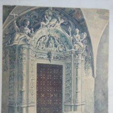 Arte: CATEDRAL DE MALLORCA, PUERTA DE LA SALA CAPITULAR Y SEPULCRO DEL ANTIPAPA DON GIL MUÑOZ. L BLANCO. Lote 132307146