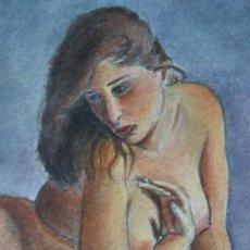 Kunst - GESTODEDIOS (Salamanca, 1971). Acuarela original, desnudo - 133008470
