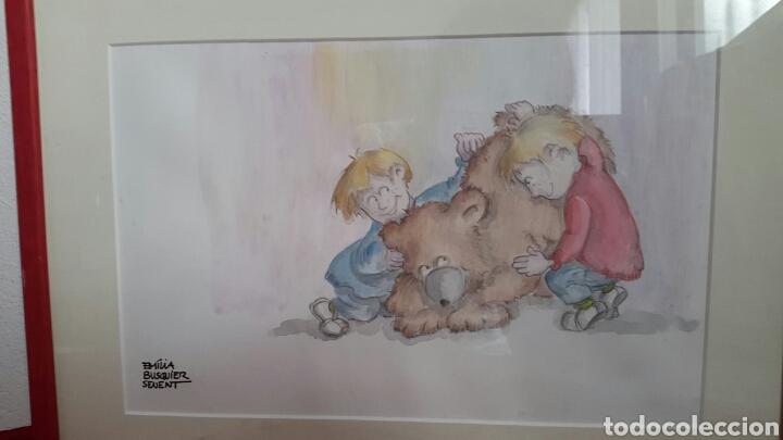 Arte: ACUARELA INFANTIL DE EMILIA BUSQUIER SENENT - Foto 2 - 133011806