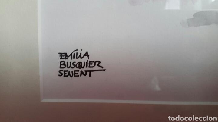 Arte: ACUARELA INFANTIL DE EMILIA BUSQUIER SENENT - Foto 3 - 133011806