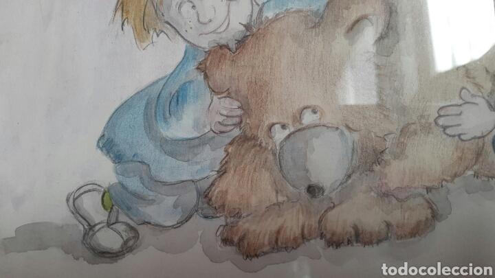 Arte: ACUARELA INFANTIL DE EMILIA BUSQUIER SENENT - Foto 4 - 133011806