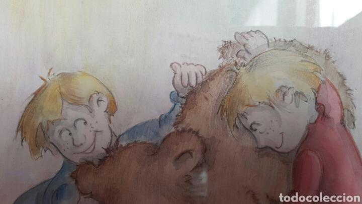 Arte: ACUARELA INFANTIL DE EMILIA BUSQUIER SENENT - Foto 5 - 133011806