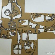 Arte: AGUAFUERTE. MILAY 3. OSWALDO GUAYASAMÍN. FIRMADO.. Lote 133057570