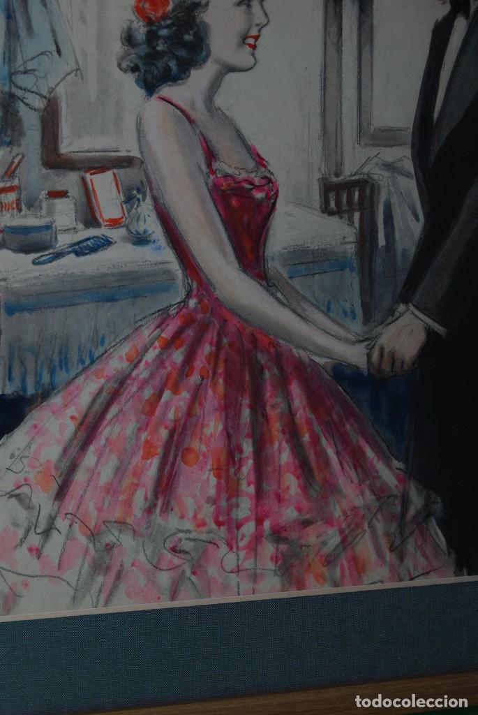Arte: PRECIOSA ACUARELA DEL ILUSTRADOR F. J. NIXON - AÑOS 30-40 - Foto 5 - 133589990