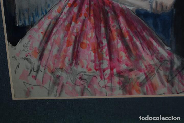 Arte: PRECIOSA ACUARELA DEL ILUSTRADOR F. J. NIXON - AÑOS 30-40 - Foto 9 - 133589990