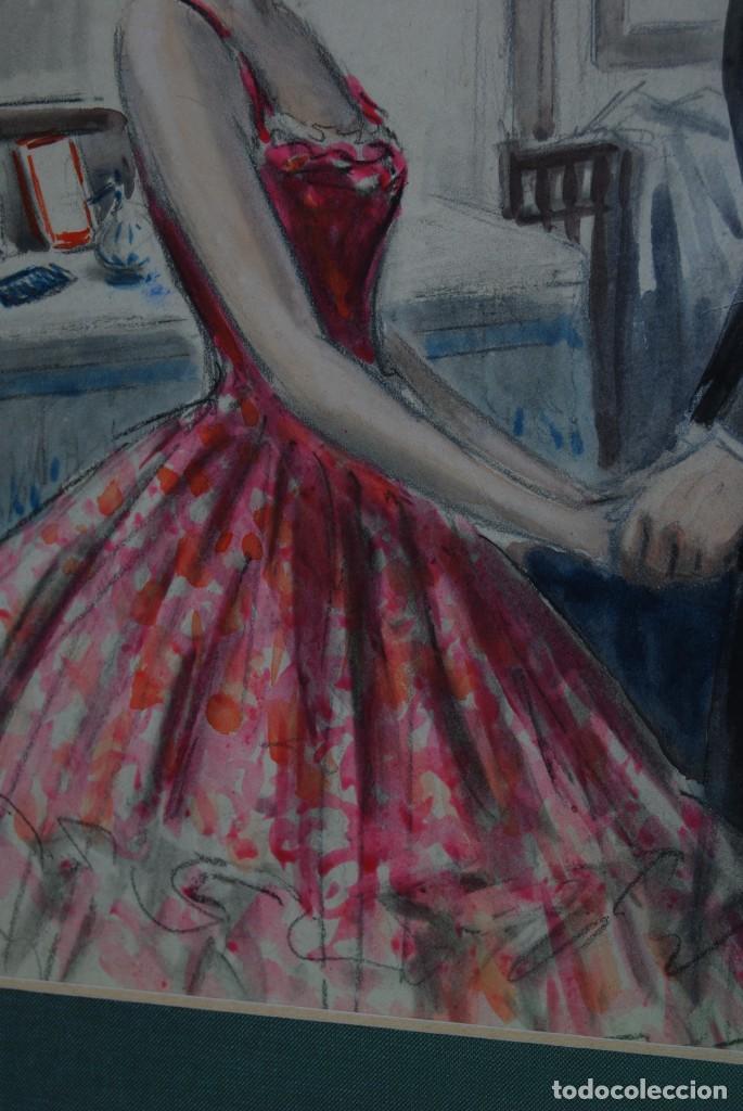 Arte: PRECIOSA ACUARELA DEL ILUSTRADOR F. J. NIXON - AÑOS 30-40 - Foto 12 - 133589990
