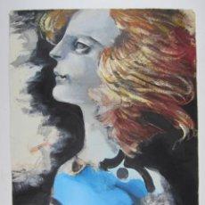 Arte: MODEST CUIXART (1925-2007), LA BEN PLANTADA, 1983, TÉCNICA MIXTA, DEDICADO. 52X67CM. Lote 133614358