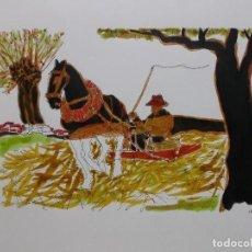 Arte: ACUARELA PEDRO SOBRADO. Lote 133679082