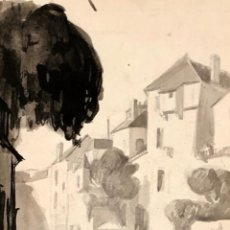 Arte: EMILE OTHOM FRIESZ - AGUADA - FIRMADA. Lote 134642630