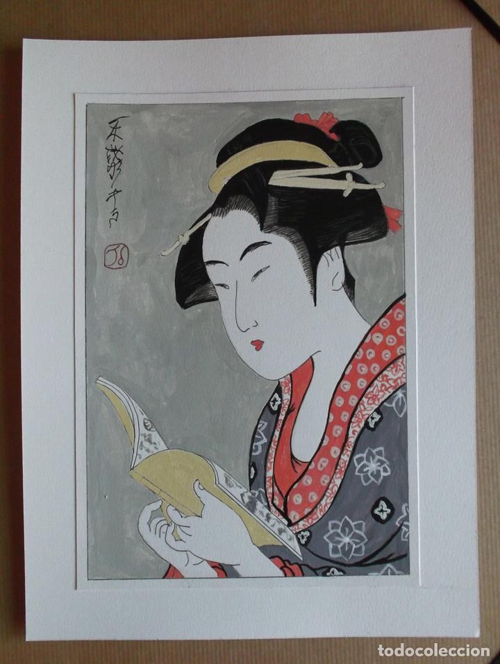 Arte: Acuarela de estilo japonés tradicional - Foto 3 - 134856742