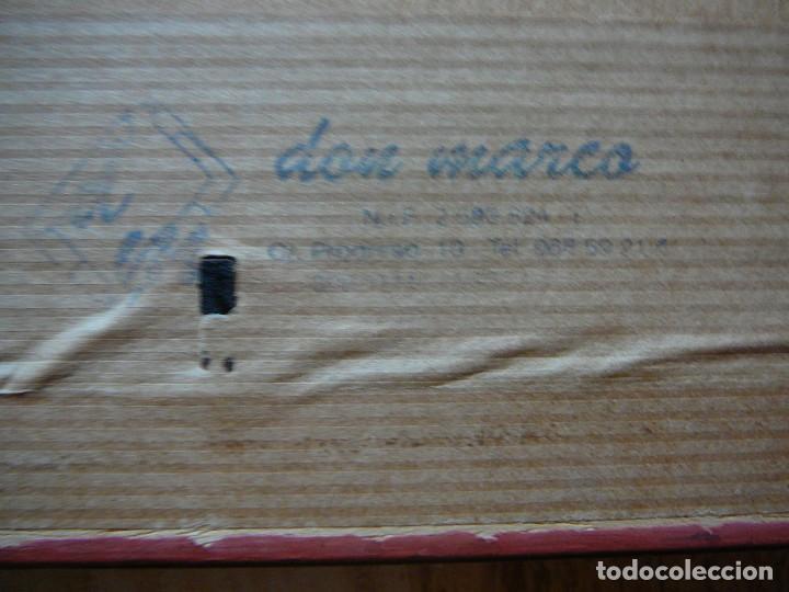 Arte: Acuarela y rotulador. Pueblo inglés.Cuadro enmarcado. - Foto 8 - 135052694
