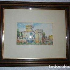 Arte: CUADRO PINTURA CASTILLO DE BENISANÓ (VALENCIA). Lote 135419182