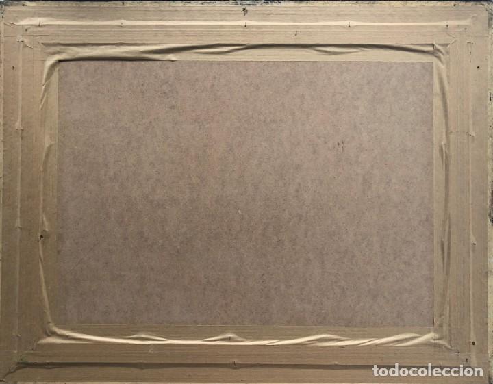 Arte: José Luis Florit Rodero (1909-2000) - Escena costumbrista - Acuarela - Foto 7 - 135826130