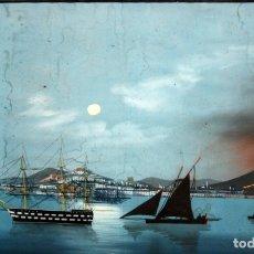 Arte: ESCUELA ITALIANA DEL SIGLO XIX. GOUACHE SOBRE PAPEL FECHADO DEL AÑO 1861. Lote 99521915
