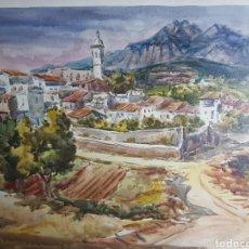 Art: PAISAJE POR RAMON CASTELLS Y SOLEY. Lote 136001393