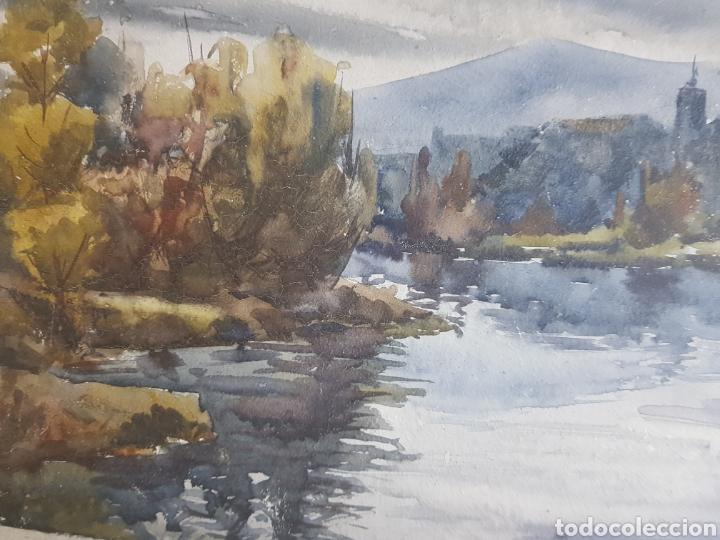 Arte: Ramon Castells i Soley paisaje de rio - Foto 4 - 136004042