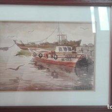 Arte: ACUARELA JUAN PARDO FORTEZA. Lote 136274346