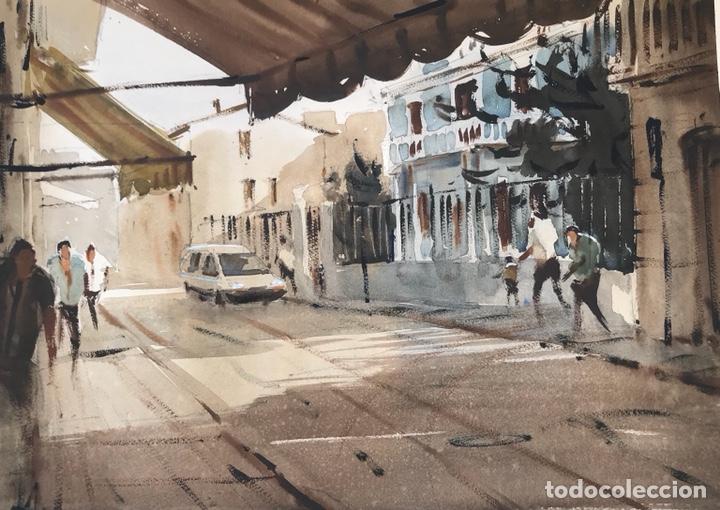 ACUARELAS , WATERCOLOR (Arte - Acuarelas - Contemporáneas siglo XX)