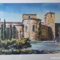 Arte: IGLESIA DE SAN PEDRO DE AVILA DE FAUSTINO BLANCO VEGA. Lote 136668682