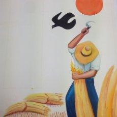 Arte: CATALÁ, MIREIA, 1972, FIRMADO Y CATALOGADO.APROX 50X40 CMS. Lote 136816826