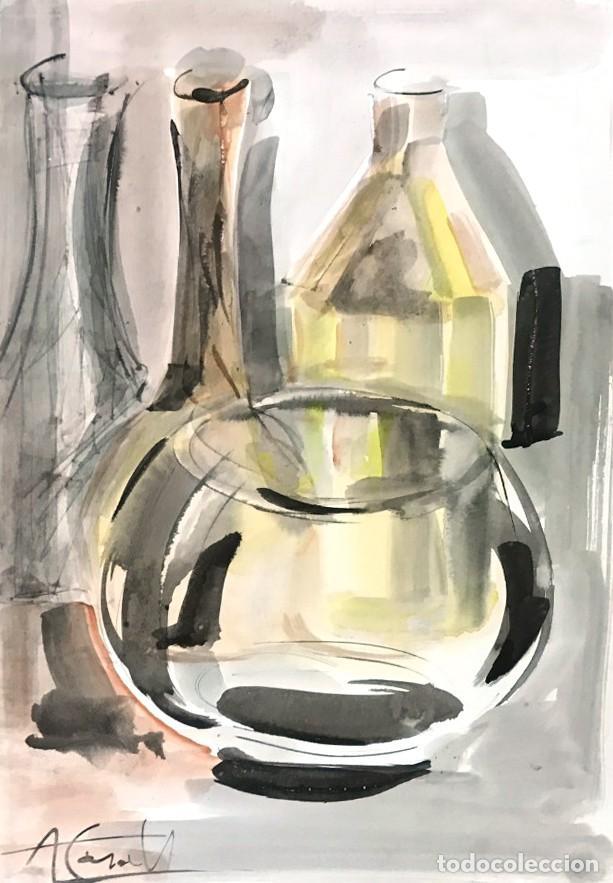 AMADEU CASALS (1930 - 2010) (Arte - Acuarelas - Contemporáneas siglo XX)